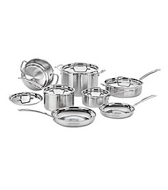 Cuisinart® Multiclad Pro Triple Ply Stainless Steel 12-Pc. Set