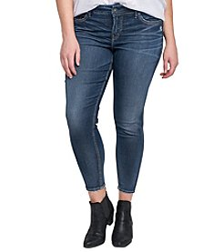 Silver Jeans Co.® Plus Size Avery Ankle Skinny Jeans