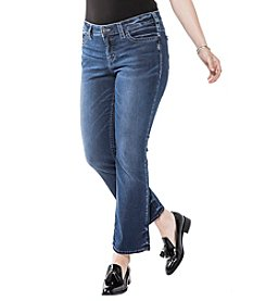 SilverJeansCo.® Plus Size Aiko Slim Boot Jeans