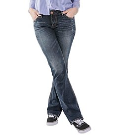 SilverJeansCo.® Plus Size Calley Slim Boot Jeans