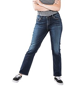 Silver Jeans Co.® Plus Size Avery Straight Jeans