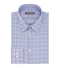 Geoffrey Beene® Men's Fitted Check Dress Shirt