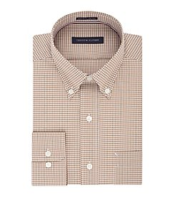 Tommy Hilfiger® Men's Classic Fit Gingham Non Iron Dress Shirt