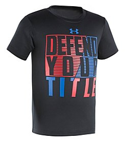 Under Armour® Boys' 2T-7 Defend Your Title Tee