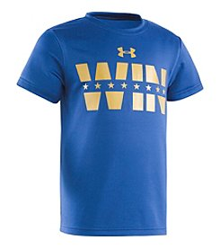 Under Armour® Boys' 2T-7 Win Gold Tee