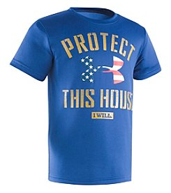 Under Armour® Boys' 2T-7 Protect This House Tee