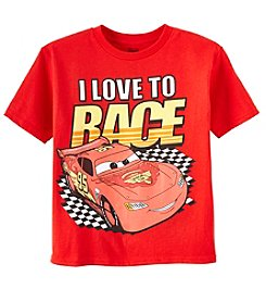 Disney® Boys' 4-7 Cars Love To Race Tee