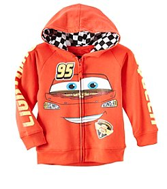 Disney® Boys' 2T-4T Cars Lightning McQueen Zip Hoodie