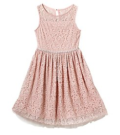 Speechless® Girls' 7-16 Boat Neck Dress