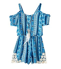 Speechless® Girls' 7-16 Cold Shoulder Romper