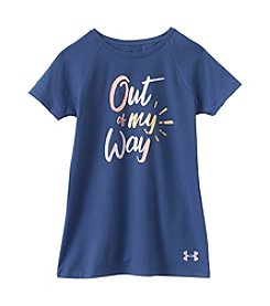 Under Armour® Girls' 4-6X Short Sleeve Tee