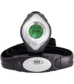 Pyle Pro Heart Rate Monitor Watch With Minimum, Maximum & Average Heart Rate