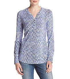 Relativity® Print Henley Top