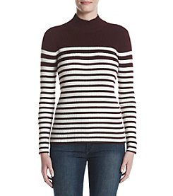Studio Works® Striped Ribbed Sweater