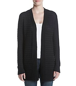 Studio Works® Textured Open Cardigan