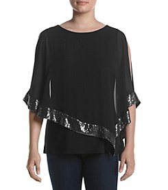 MSK® Sequin Cape
