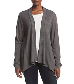 Ruff Hewn Plus Size Textured Open Front Cardigan