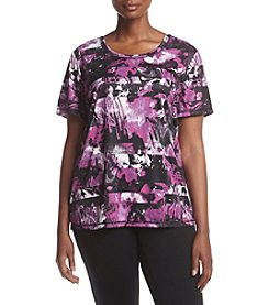 Exertek® Plus Size Printed Tee