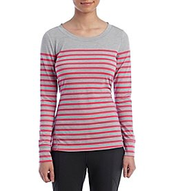 Exertek® Petites' Engineered Stripe Tee