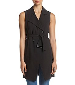 Kensie® Trench Vest-Lined