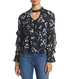 Living Doll® Floral Ruffle Blouse