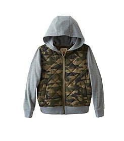 Ruff Hewn Boys' 8-20 Hooded Puffer Sweatshirt Jacket