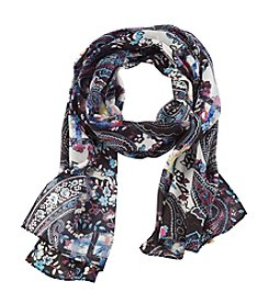 Collection 18 Bright Paisley Scarf