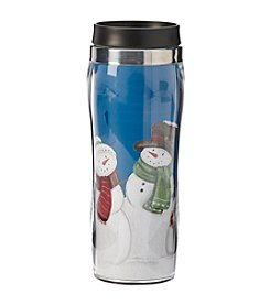Living Quarters Snowmen Thermal Mug