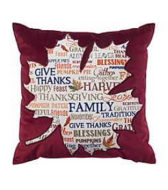 Living Quarters Harvest Leaf Pillow