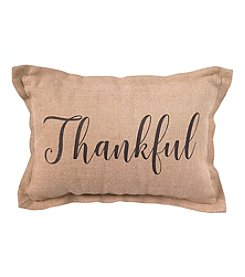 Living Quarters Thankful Lumbar Pillow