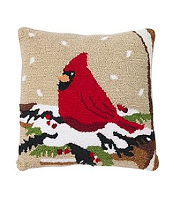 Living Quarters Handhook Cardinal Pillow
