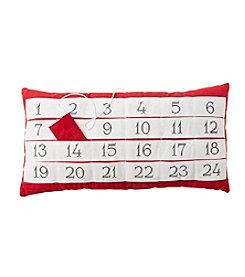 Living Quarters Advent Calendar Pillow