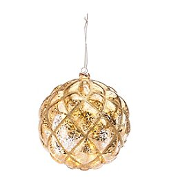 CASA by Victor Alfaro Large LED Metallic Ball Ornament
