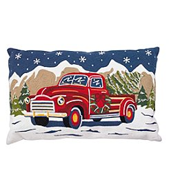 Living Quarters Holiday Truck Pillow