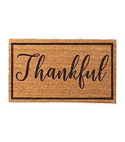 Living Quarters Thankful Coir Mat
