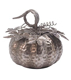 Living Quarters Small Champagne Galvanized Pumpkin