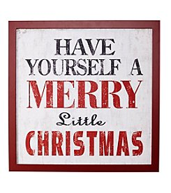 Living Quarters Merry Little Christmas Sign
