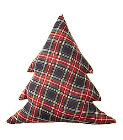 Living Quarters Tartan Christmas Decorative Pillow
