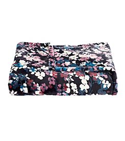 Living Quarters Floral Print Luxe Plush Throw