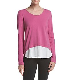 Warrior by Danica Patrick™ Woven Hem Top