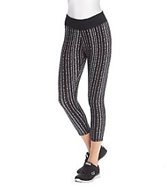 Warrior by Danica Patrick™ Stripe Back Leggings