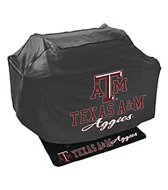 Mr. Bar-B-Q NCAA® Texas A and M University Aggies Grill Cover and Grill Mat Set