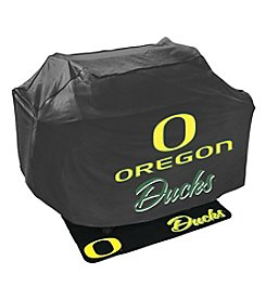 Mr. Bar-B-Q NCAA® University of Oregon Ducks Grill Cover and Grill Mat Set