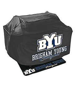 Mr. Bar-B-Q NCAA® Brigham Young University Cougars Grill Cover and Grill Mat Set
