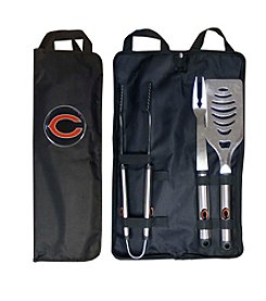 Siskiyou NFL® Chicago Bears 3-Piece BBQ Set with Canvas Case