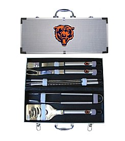 Siskiyou NFL® Chicago Bears  8-Piece BBQ Set with Hard Case