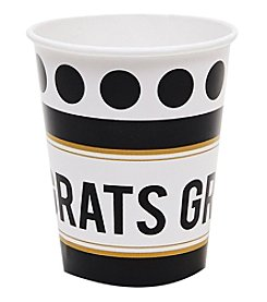 Set of 8 Graduation Party Paper Cups
