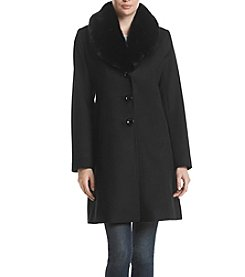 Forecaster Walker Faux Fur Collar Jacket