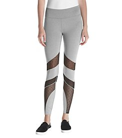 Ivanka Trump® Athleisure Mesh Insert Leggings