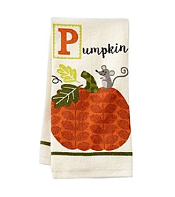 Ritz® P Is For Pumpkin Kitchen Towel
